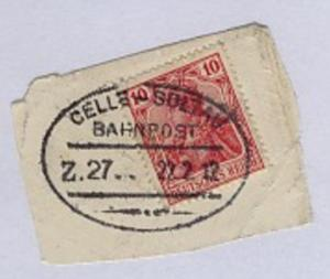 CELLE-SOLTAU Z. 27 22.2.12 auf Bf.-Stück