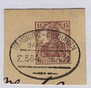 HAMBURG-CUXHAVEN Z. 364 6.4.20 auf Bf.-Stück