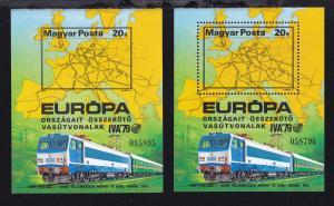 Internationale Verkehrsausstellung IVA Hamburg 1979, Block A und B **