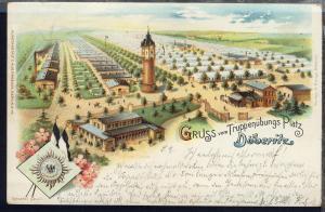 Gruss vom Truppenübungs-Platz Döberitz, 1899