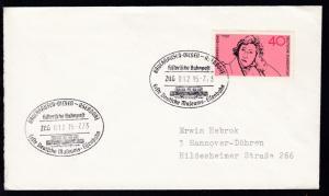 BRUCHHAUSEN-VIELSEN-ASENDORF Historische Bahnpost