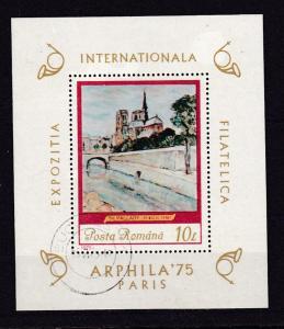 Internationale Briefmarkenausstellung ARPHILA '75 Paris