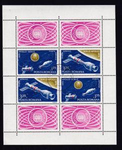 Amerikanisch-sowjetisches Raumfahrtunternehmen Apollo-Sojus