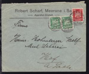 Meerane OSt. MEERANE (SACHS.) g 7.6.26 auf Firmenbrief (Robert Scharf, Meerane