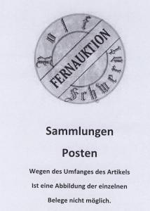 Burgen und Schlösser 195 Heftchen (24x 10, 98x 11, 34x 12, 39x 13),