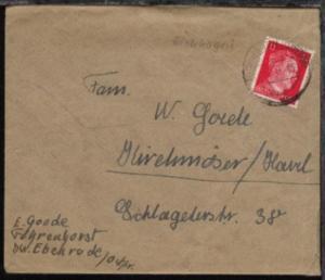 Eichhagen OSt. EICHHAGEN (OSTPR) a 27.7.43 auf Bf.