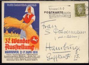 Hannover Sonder-PK Deutsche Landwirtschafts Gesellschaft