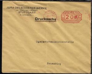 Stuttgart PFS STUTTGART 26.9.23 (20 M) auf Firmen-Bf.