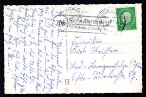 OSt. Clausthal-Zellerfeld 19.7.61 + R2 20b Schulenberg ü. Altenau (Oberharz)