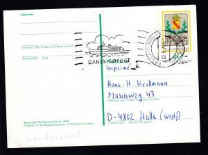 Maschinen-Stpl. RODBY-FEHMERN PAQUEBOT 27.5.79 DANSK SOPOST auf Bund-GSK