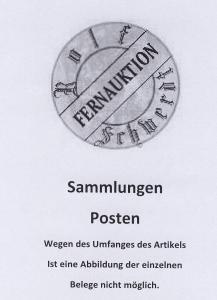 1978/86 75 Bfe (meist GSU) aus vielen verschiedenen Orten nach Deutschland,