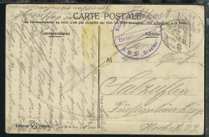 MSP 69 30.11.14 SMS Breslau + viol. BfSt. SMS Breslau auf AK (Constantinopel),