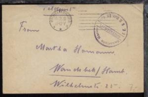 Maschinen-Stpl. Wilhelmshaven 14.2.18 + BfSt. E.K. 5 II. Matr. Art. Abt.