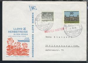 MS Berlin 10 verschiedene Sonder-Umschläge (007/012, 014/017)