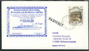 1980/81 11 Belege mit diversen Cachets MS Berlin
