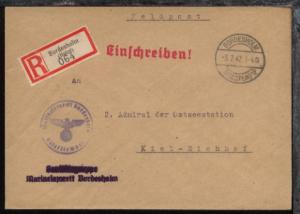OSt. Bordesholm (Holstein) 3.7.42 + L2 Sanitätsgruppe Marinelazarett Bordesholm
