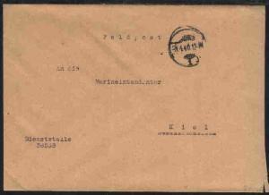 Tarn-Stpl. 26.10.44 + undeutl. BfSt. auf FP-Bf.,