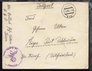 Tarn-Stpl. 19.VIII.41 + BfSt. 15912 (Luftwaffen-Baubatallion 25/IV  auf FP-Bf.