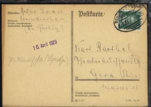 BERLIN-BRESLAU Z. 231 9.4.29 auf PK