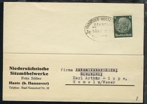 HANNOVER-WEETZEN-HASTE Zug 1667 14.7.37 auf Firmen-PK (Fritz Sölter, Haste)