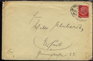 HANNOVER-KASSEL Zug 0074 19.9.39 auf Bf., Bf. Bef.-Sp.