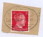 INNSBRUCK-LINDAU ZUG 1883 i 20.8.43 auf Bf.-Stück