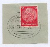 INNSBRUCK-LINDAU ZUG 5301 10.12.41 auf Bf.-Stück