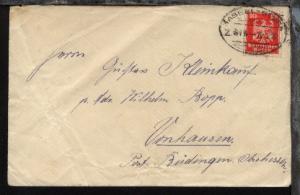KASSEL-BEBRA Z. 615 26.2.27 auf Bf., Bf. Bef.-Sp.