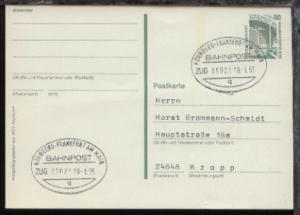 NÜRNBERG-FRANKFURT AM MAIN q ZUG 39021 18.1.95 auf GSK