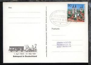 NÜRNBERG-HANNOVER b ZUG 39070 30.5.97 auf AK