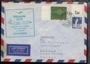 Lufthansa-Erstflug-Bf. München-Ankara 1.4.1961