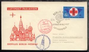 Interflug-Erstflug-Bf. Berlin-Moskau 1.9.1963