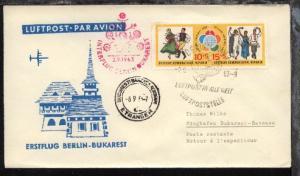 Interflug-Erstflug-Bf. Berlin-Bukarest 2.9.1963