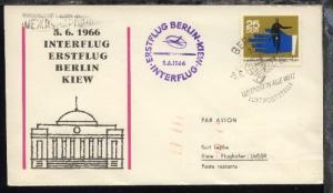 Interflug-Erstflug-Bf. Berlin-Kiew 5.6.1966