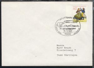 1978/83 14 verschiedene Belege mit diversen Zeppelin-Jubiläums-SSt.