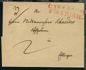 Baldenburg L2 BALDENBURG 1.3. auf Bf.-Hülle nach Conitz