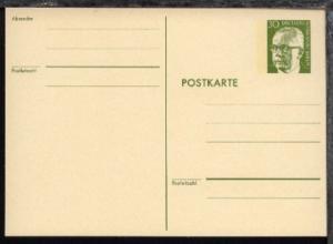 Heinemann 30 Pfg. rahmfarbener Karton