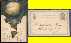 SSt. VELGJÖRENHEDSBAZAREN  I KJÖBENHAVN 9.4.1901 auf Sonder-GSK