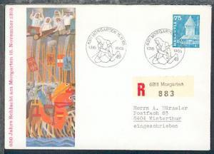 SSt. 6311 MORGARTEN 15.11.65 1315 1965 auf Sonder-Umschlag