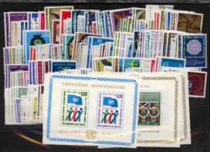 Jahrgänge 1969/1983 ** + o auf Steckkarte