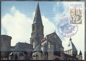 Tourismus Abtei von Dorat auf Maximum-Karte