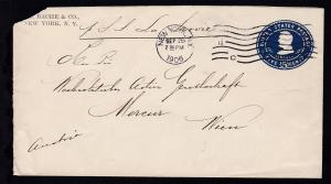 hs Leitvermerk p. SS La Savoie auf Brief ab New York SEP 25 1906