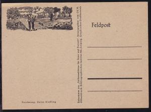 illustrierte Feldpostkarte, ungebraucht