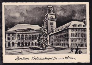 Herzliche Weihnachtsgrüße aus Witten, 1951