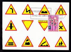 Verkehrssicherheit auf Maximum-Karte