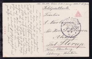 KAIS. DEUTSCHE MARINE-SCHIFFSPOST No 39 10.9.15 (= SMS König Albert)