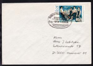 BERLIN-FRANKFURT/ODER BAHNPOST Zug 122 15.11.76 auf Brief