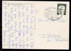 FRANKFURT (MAIN)-BASEL BAHNPOST ee ZUG 00472 4.10.71 auf CAK