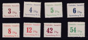 Freimarken (II) gezähnt, **