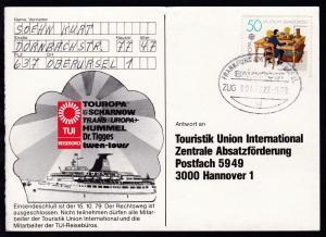 FRANKFURT AM MAIN-BASEL BAHNPOST ai ZUG 00473 22.9.79 auf
